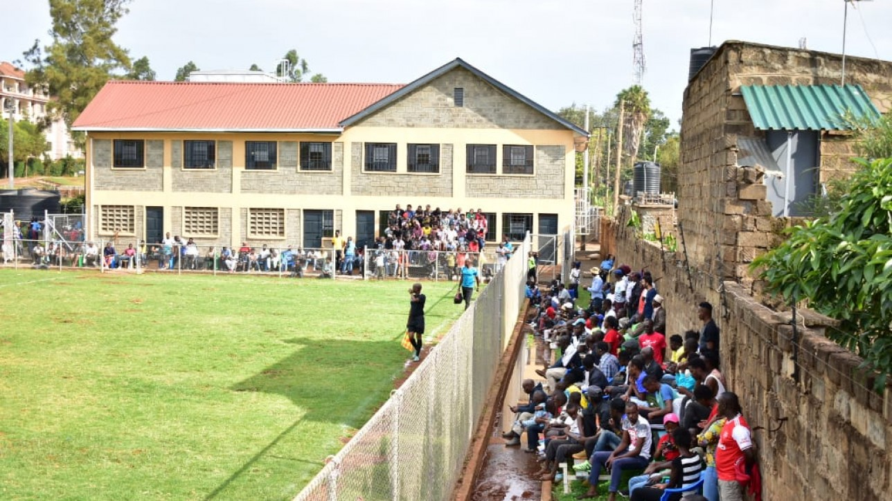 Fans cheering City Stars at Hope Centre in a past game. They have been called on for a game at Camp Toyoyo