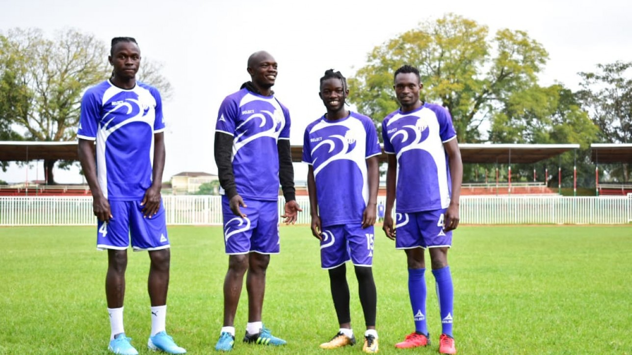 Maloba - second from right - to miss season opener against Shabana