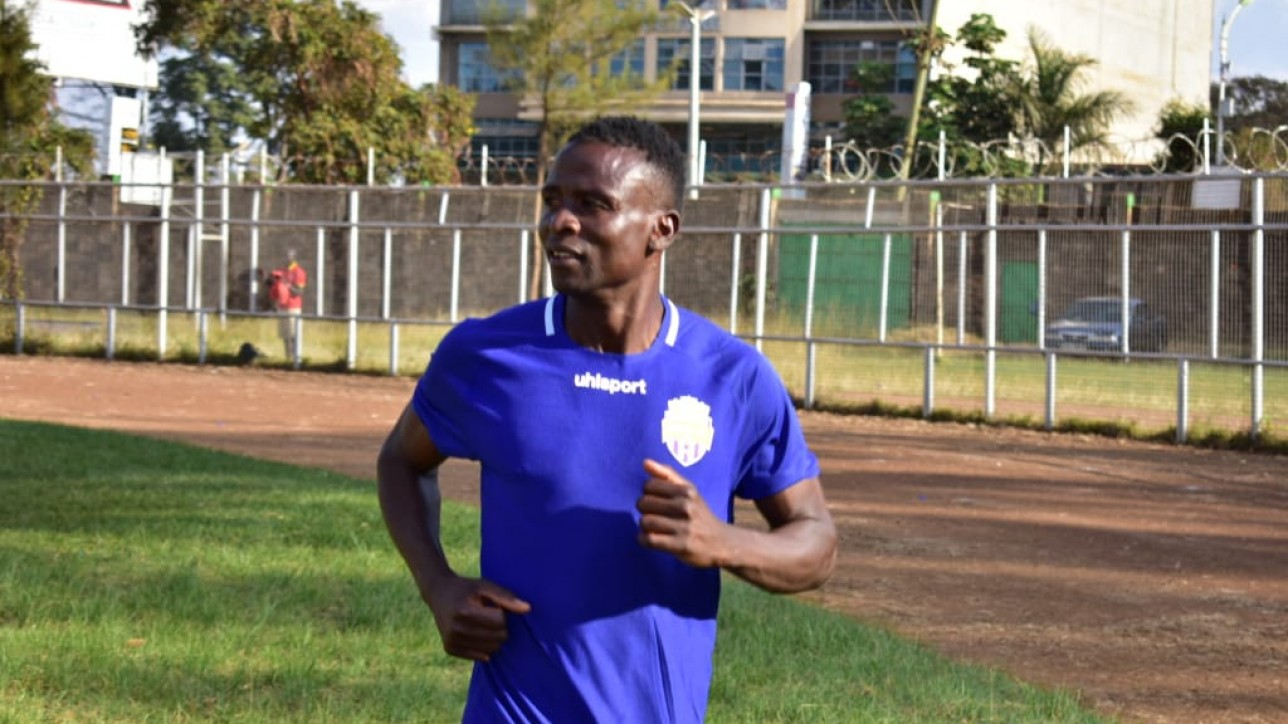 Eric 'Çantona' Ochieng named for St. Joseph's clash on Sun 1 Dec 2019