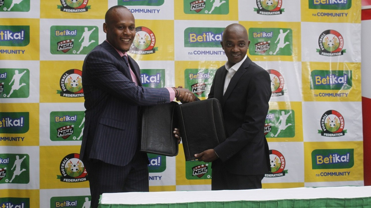FKF-Betika-NSL Partnership on Tue 11 Nov 2019