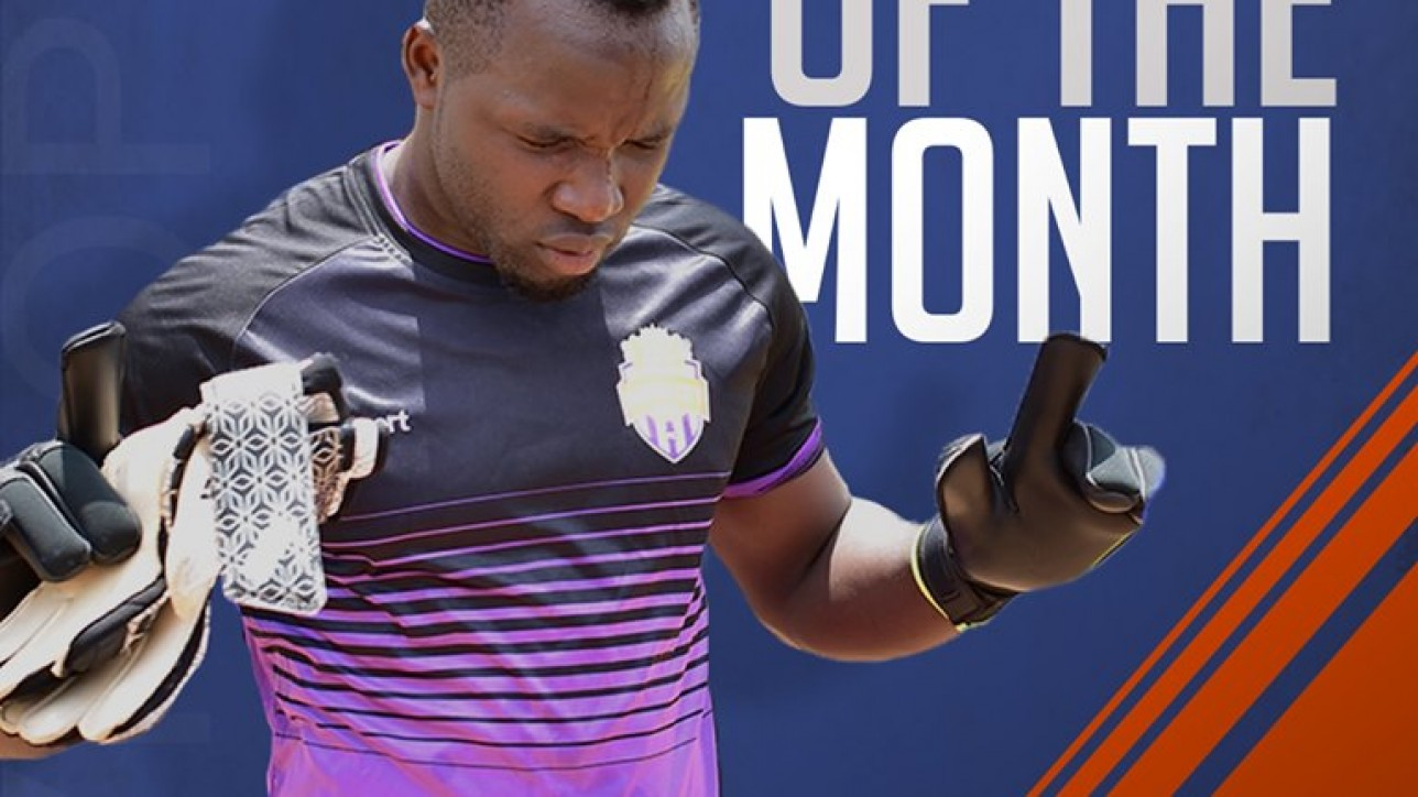 Keeper Levis Opiyo voted by fan as player of the month of September 2019