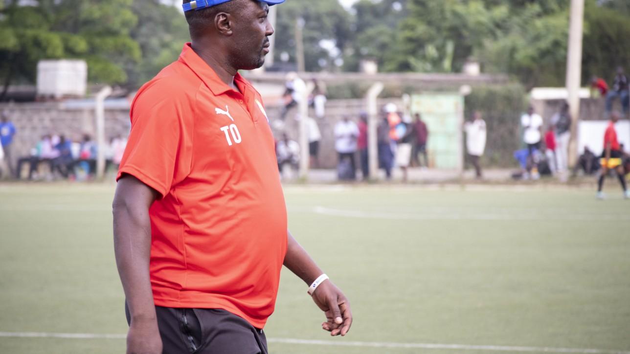 City Stars assistant coach Tiellen Oguta