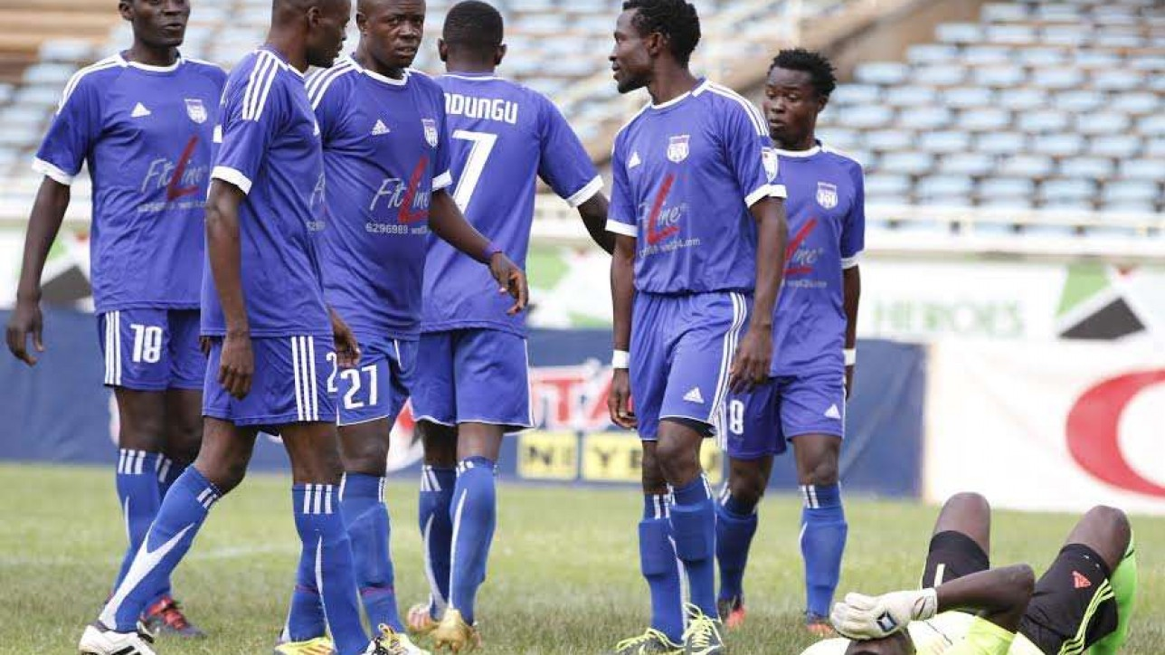 City Stars back in the years. The team was relegated on Sun 30 Oct 2016 after a 3-1 loss to Homeboyz at Kasarani  Photo credit - Courtesy