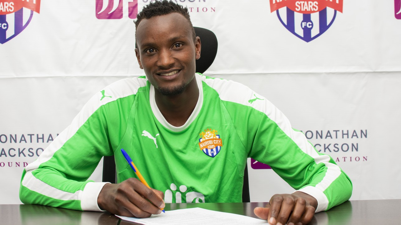 Steve Njunge has joined Nairobi City Stars on a two-year deal