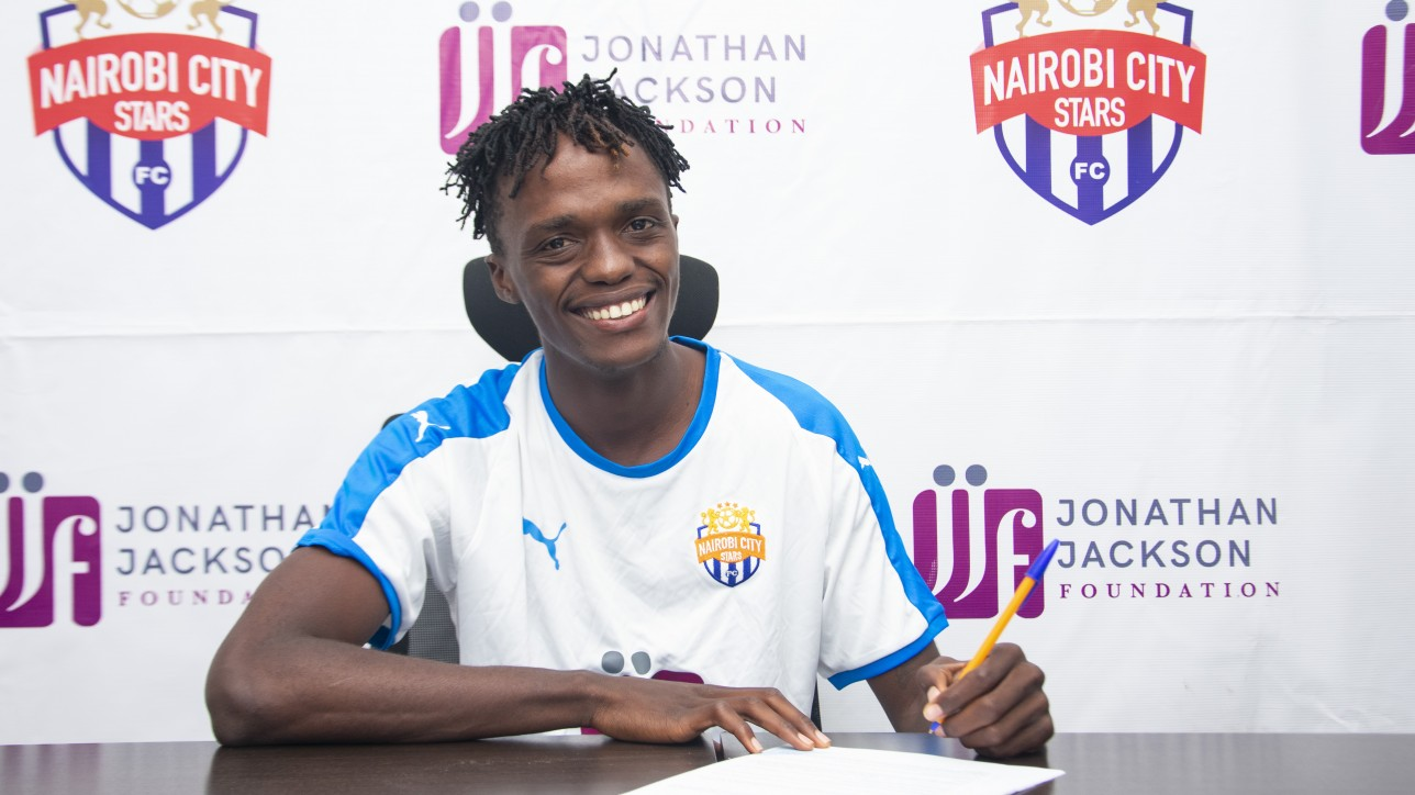 Herit Mungai joins City Stars on a one-year deal