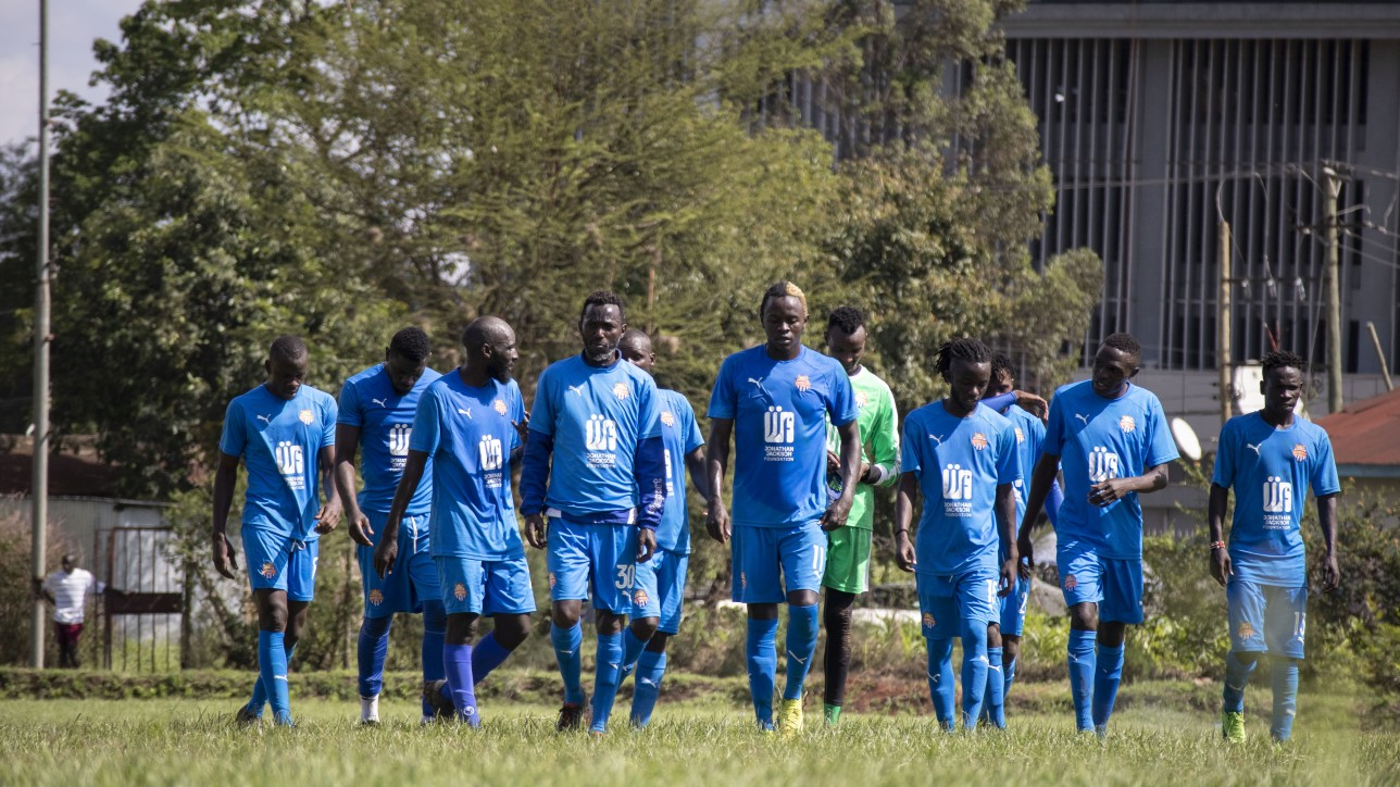 Nairbi City Stars during a friendly on Wed 11 Nov 2020 at Public Service Club. KCB won 1-0