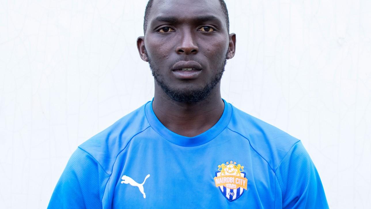 Nairobi City Stars left back Wesley 'Wiseman' Onguso