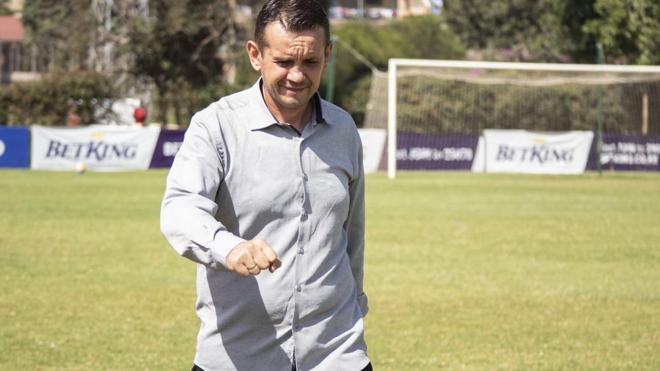 Head coach Sanjin Alagic