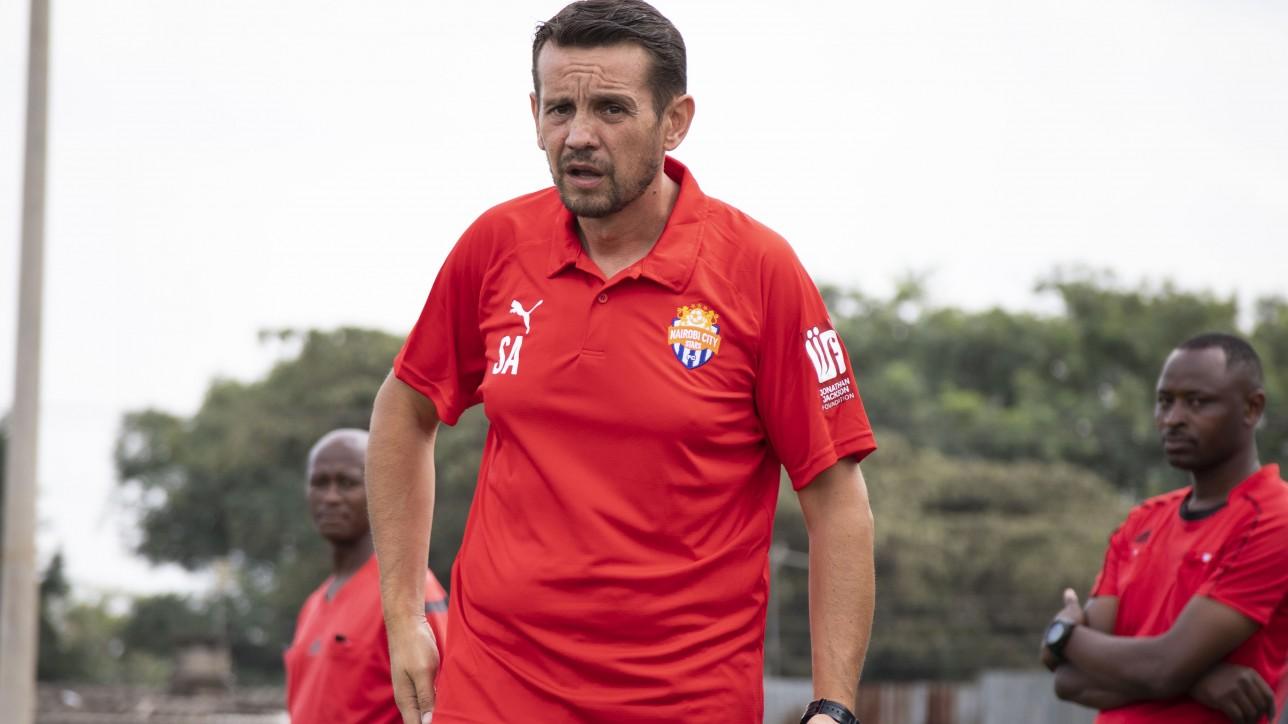 Nairobi City Stars Head coach Sanjin Alagic