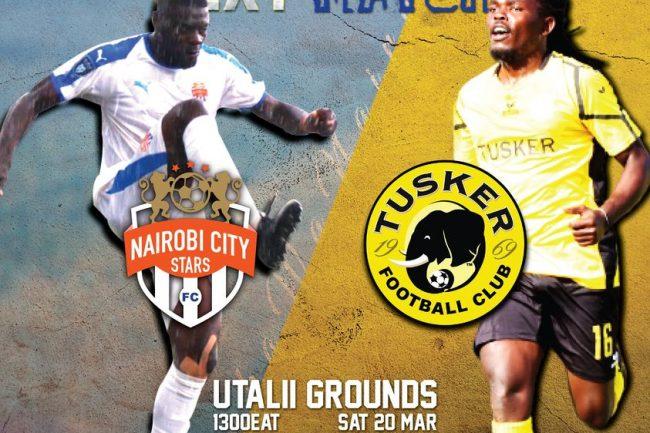 Nairobi City Stars vs Tusker