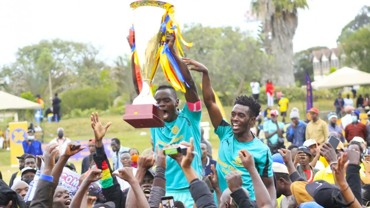 FIFA Best, with 8 Nairobi City Stars players in their ranks, won the Dennis Oliech Cup to take home Kshs 300,000