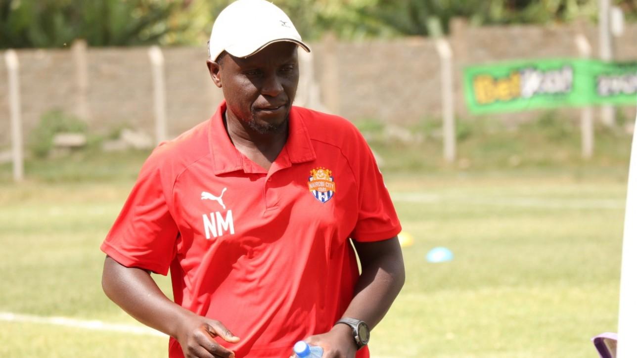 Nicholas Muyoti in Wundanyi during the 2021-22 FKF Premier League season opener against home team Sofapaka on Sun 26 Sept 2021